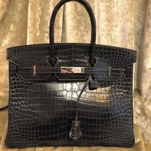 Hermès Birkin 35 Crocodile